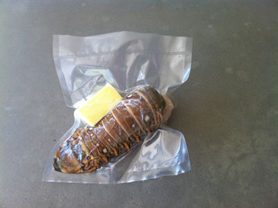 Vacuum Sealed Lobster