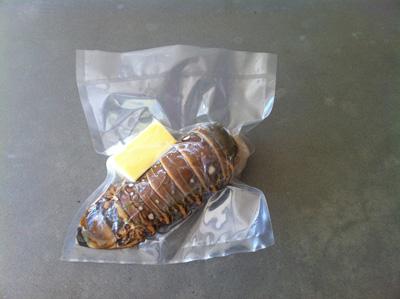 Vacuum Sealed Lobster