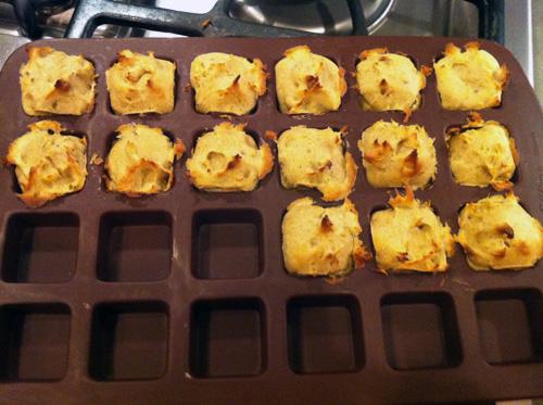 Baked Chestnut Puffs