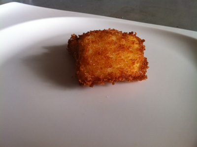 Deep Fried Custard In Panko