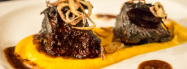 Sous Vide Short Ribs & Sweet Potato Puree