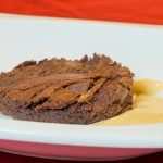 Chocolate Brownie & Sous Vide Creme Anglaise