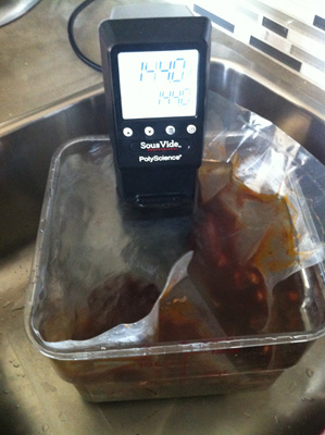 Sous Vide Short Ribs Cooking