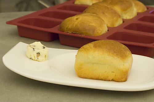 Finished Brioche & Truffle Butter
