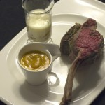 Sous Vide Rosemary Mustard Lamb Chops
