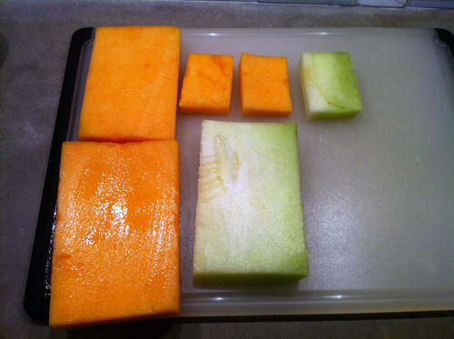 Melon Terrine Planks