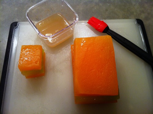Melon Terrine with Pectin