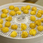 Bearnaise Spheres in Dehydrator