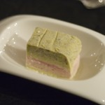 Pistachio, Strawberry, & Vanilla Semifreddo